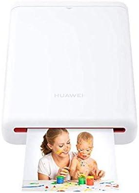 Foto Drucker Cv80 Mit 5 Packungen Papier Weiß Computer Zubehör