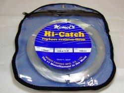 モモイ Hi-Catch ナイロンリーダー ソフト 130lbs 35号 100mクリア