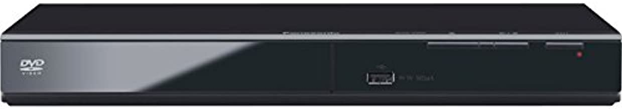 Panasonic Progressive Scan DVD Player DVD-S500 (Black) Detailed Video/Audio from Most..