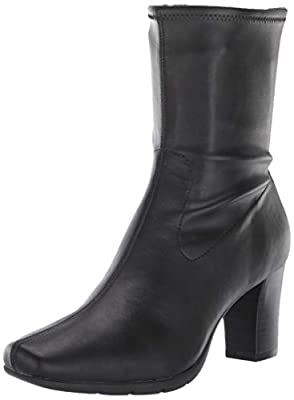 Aerosoles Women's Cinnamon Mid Calf Boot, Black, 7.5 M US