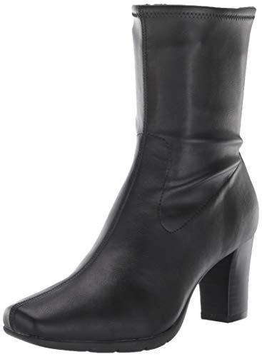 Aerosoles Women's Cinnamon Mid Calf Boot, Black, 7 M US