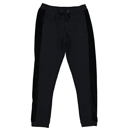 Victoria's Secret Pink Sweatpants Velour Detail Skinny Jogger (M, Black)