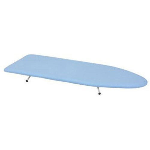 ironing board presses Household Essentials 120101-0 Collapsible Space Saving Tabletop Ironing Board with Folding Legs   Blue