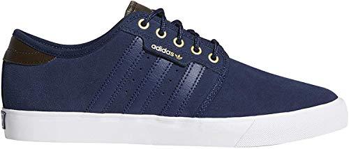 adidas Herren Seeley Skateboardschuhe, Blau (Maruni/Tiesom/Ftwbla 000), 39 1/3 EU