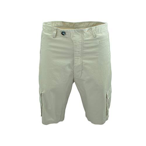 GND Schnelltrocknende Outdoor-Cargo-Shorts Atmungsaktive Klettershorts Safari-Hose mit Mehreren Taschen