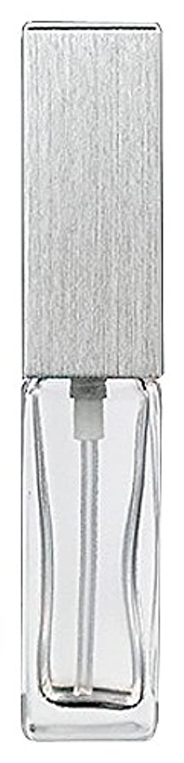反射グローブ意外15491 メンズアトマイザー角ビン クリア キャップ ヘアラインシルバー