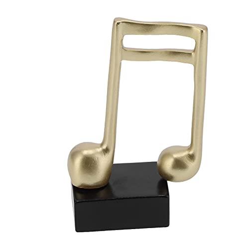 Lazimin Estatua de Nota Musical, pequeños Adornos Modernos nórdicos, Escultura de símbolo de música Minimalista para Escritorio, Mesa, estantería, Mesa de Comedor