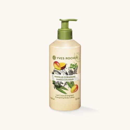 Yves Rocher Energizing Leche suave para el cuerpo Mango y cilantro 390 ml