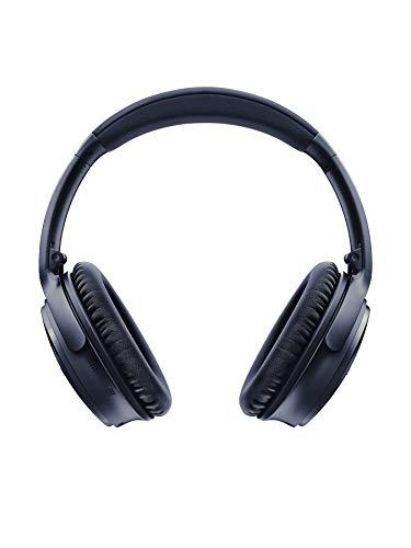 Bose Casque sans fil à réduction de bruit QuietComfort 35 II - Triple Midnight, avec Amazon Alexa Intégrée