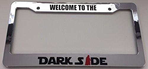 darth vader license plate frame - 3