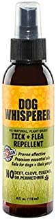 YAYA ORGANICS Dog Whisperer Tick + Flea Repellent, Proven Effective, All-Natural, Safe for Dogs and Their People