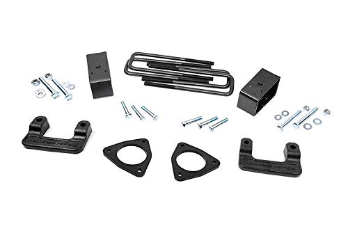 Rough Country 2.5' Leveling Lift Kit (fits) 2007-2018 Chevy Silverado GMC Sierra 1500 | Suspension | 1305