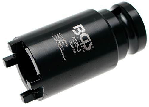 BGS 8265-3 | Nutmutternschlüssel | Zapfen außen liegend | 30 mm | KM2
