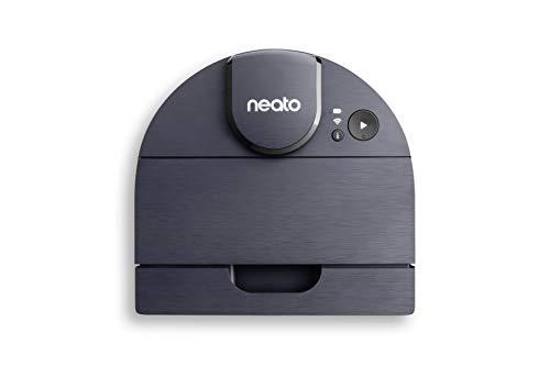Neato Robotics D8 Intelligent Robot Vacuum Cleaner, aspirapolvere robot con navigazione laser, 100 minuti di durata della batteria, connettività Alexa e controllo app, blu indaco