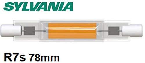 Sylvania R7S LED 78mm Stablampe FILAMENT- LED Halogen Ersatz (470 lm, Lichtfarbe: 4000 K), LED Leuchtmittel neutralweiß [Energieklasse A++] (1 Lampe) NICHT DIMMBAR