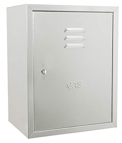Cajas galvanizadas para contadores de gas - 45 x 35 x 25