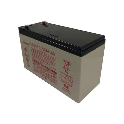 """EnerSys DataSafe NPX Series NPX-35TFR 12 Volt / 8.0 Ah @20 Hr with F2 (0.250"""") Terminals"""