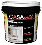 Pittura murale semilavabile traspirante per interni CASAMIA TOP 14 LT