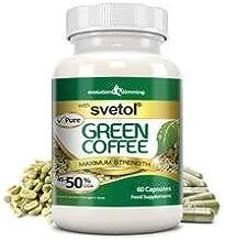 Pure Svetol Green Coffee Bean with 50 CGA 60 Capsules Evolution Slimming Estimated Price : £ 24,99