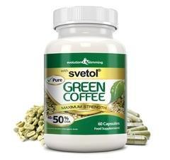 Evolution Slimming Pure Svetol - Grano de café verde - pack de 60 cápsulas