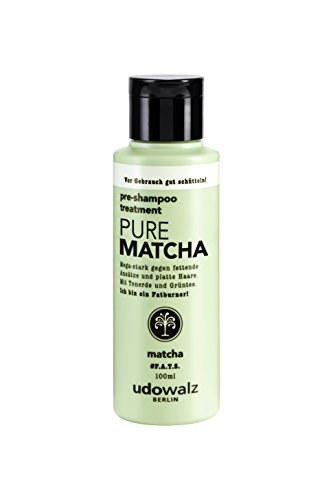 Udo Walz Hairfood Pre-Shampoo Treatment Pure Matcha, 1er Pack (1 x 100 ml)