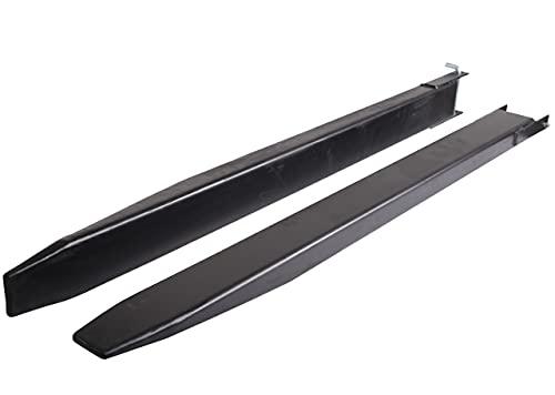 Extensión de la horquilla cerrada | 2000 mm 2,0 m | 135x50 mm | Prolongación de horquilla para carretilla elevadora | Par