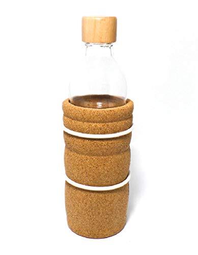 Natures-Design Lagoena Trinkflasche mit Lebensblume, weiss 0,5 Liter