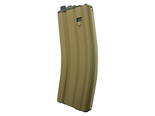 Magazin für WE Softair / Airsoft M4 Open Bolt GBB, fasst 30 BBs -TAN- (Gas Version)