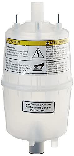 Aprilaire 80 Replacement Canister for Aprilaire Steam Humidifier Models 800 and 865 (Pack of 1)