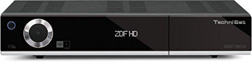 TechniSat Digit ISIO S Edition - HDTV-DigitalSat-Receiver mit Twin-Tuner und Internetfunktionalität (DVR, HD+, 2x CI+, 3x USB uvm.) schwarz