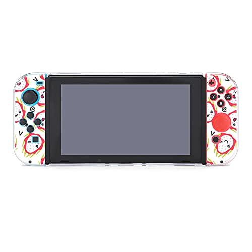 Funda para Nintendo Switch Cute Smiling Dragon Fruits 5 Piezas Funda Protectora...
