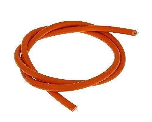 1 Meter Zündkabel Ø 7 mm Orange, universal für alle Motorräder