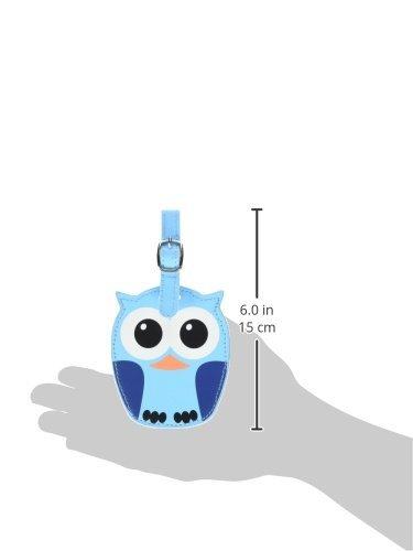 Kikkerland Whoo Owl Luggage Tags, Assorted  (TT12-A) Photo #2