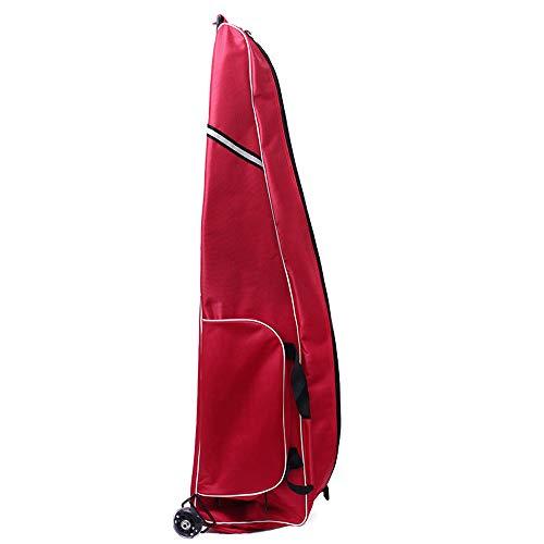 LPing 1680D Oxford Tuch Schwerttasche Fechten Wagentragbares Rad Geeignet Sabre,Degen,Folie,Fechtausrüstung,Zwei-Wege-Reißverschluss,Wasserdicht und Abriebfest