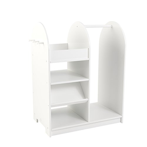 For Kids Only, Inc. KidKraft Fashion Pretend Station White