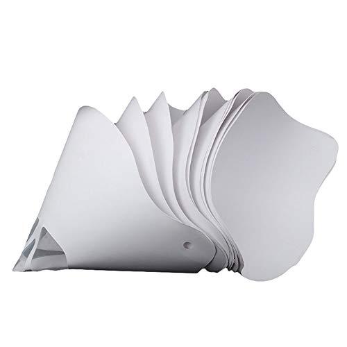 PerGrate 10 Stücke Einweg Verdicken Papierfilter Trichter für Anycubic Photon SLA UV 3D Drucker Zubehör