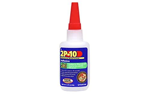 FastCap 80070 2P-10 Professional 2 Ounce Jel Wood Adhesive Glue – 2-P10 JEL 2 OZ
