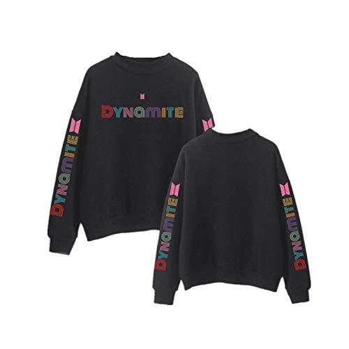 BTS Dynamite Merchandise Velvet Hochhalspullover Unisex Hoodie KPOP Kleidung Hoodies Hooded Hoodie