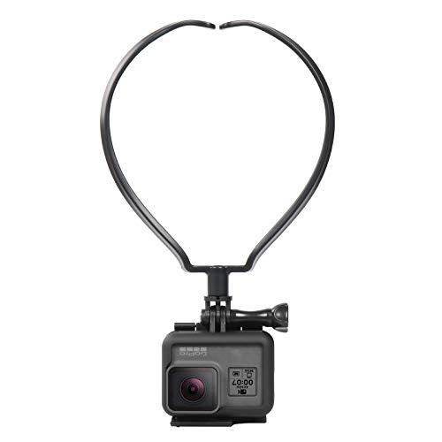 HSU ネックレス式マウント GoPro Hero9/8/7/Maxなどアクションカメラ対応 スマホ対応