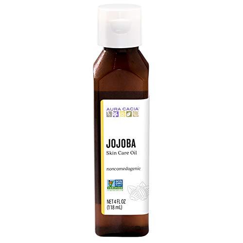 AURA CACIA - Balancing Jojoba Natural Skin Care Oil - 4 fl. oz. (118 ml)