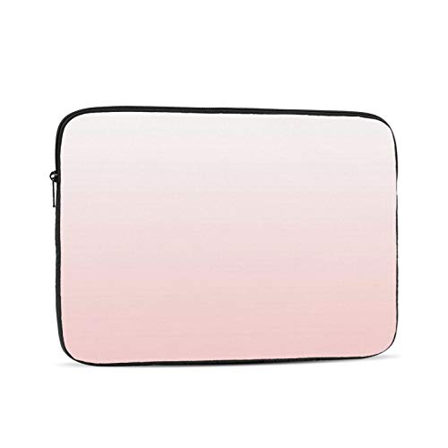 Pantone Rose Quartz Gradient 13 Inch Laptop Sleeve Bag Compatible with 13.3' Old MacBook Air (A1466 A1369) Notebook Computer Protective Case Cover