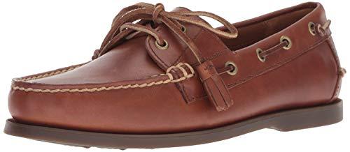 Polo Ralph Lauren Men's Merton Boat Shoe, Polo tan, 13 D US