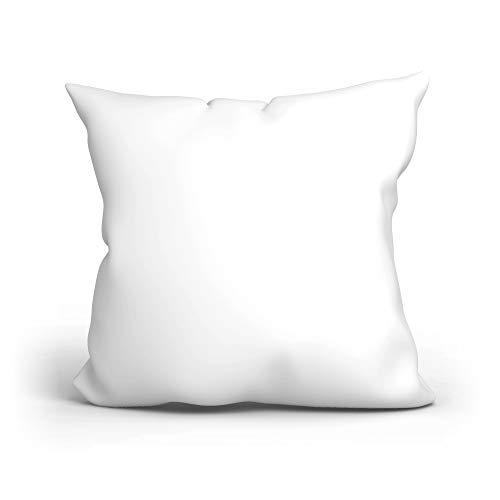 Fundas cojines 40x40 - cojines infantiles arrojar la terciopelo almohada funda de cojin 40x40 (Blanco, 40 x 40 cm)
