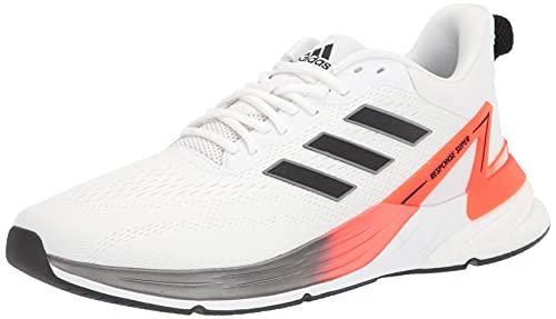 adidas Men's Response Super 2.0 Trail Running Shoe, White/Black/Solar Red, 11