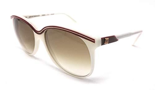 Pierre Balmain - Gafas de sol - para mujer Blanco y rojo 52