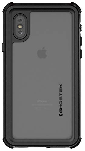 Ghostek Nautical iPhone Xs Waterproof Case with Screen Protector Super Heavy Duty Protection Shockproof Full Body Underwater Watertight Seal Cover Designed for 2018 iPhone Xs (5.8 Inch) - (Green)