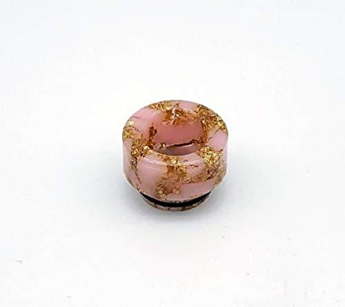 Smok Drip Tip 810 Universal mit Gleitschutz aus Harz, verschiedene Farben (Rosa)