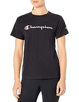 Champion Women s Classic TEE Black LARGE