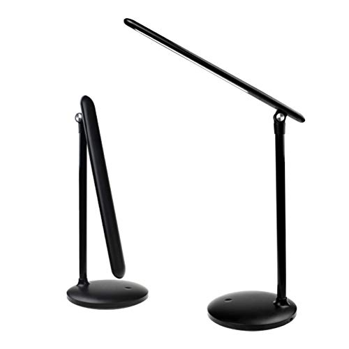 Flexo Escritorio,SLN Lámparas De Escritorio Anglepoise,Lámpara De Lectura,Smart Touch(Negro)