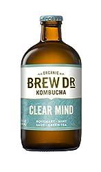 Brew Dr, Kombucha Clear Mind Organic, 14 Fl Oz
